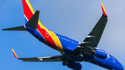 N7705A - Boeing 737-76N - Southwest Airlines