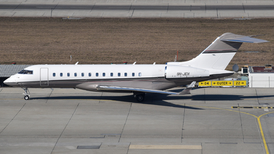 9H-JEH - Bombardier BD-700-1A10 Global 6000	 - Private
