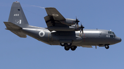 4159 - Lockheed C-130E Hercules - Pakistan - Air Force