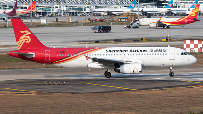A picture of B1841 - Airbus A320232 - Shenzhen Airlines - © Lazy Clutch