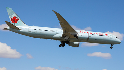 A picture of CFPQB - Boeing 7879 Dreamliner - Air Canada - © CurtisShao233