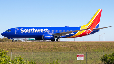 A picture of N8584Z - Boeing 7378H4 - Southwest Airlines - © Davin Amy