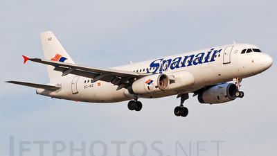 EC-IAZ - Airbus A320-232 - Spanair