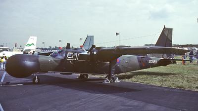 ZG989 - Britten-Norman BN-2T Turbine Islander - Britten-Norman Aircraft