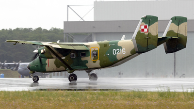 0216 - PZL-Mielec M-28TD Bryza - Poland - Air Force