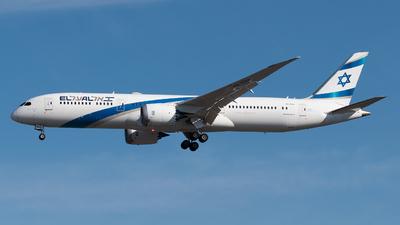A picture of 4XEDH - Boeing 7879 Dreamliner - El Al - © paoloz99