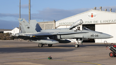 C.15-80 - McDonnell Douglas F/A-18A Hornet - Spain - Air Force