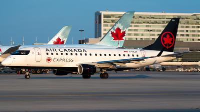 A picture of CFEJF - Embraer E175SU - Air Canada - © Derek MacPherson