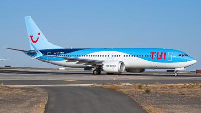 D-AMAX - Boeing 737-8 MAX - TUI