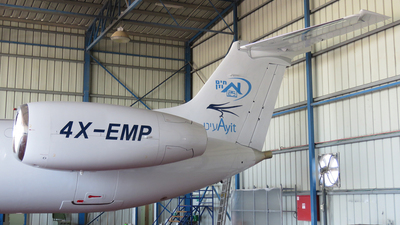 A picture of 4XEMP - Embraer ERJ145EP -  - © Michael Sender