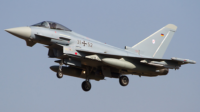 31-52 - Eurofighter Typhoon EF2000 - Germany - Air Force