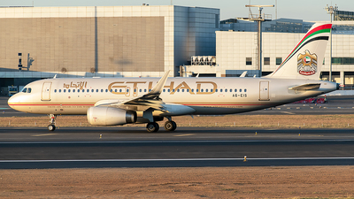 A picture of A6EIS - Airbus A320232 - Etihad Airways - © Sanskar nawani