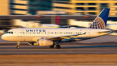 A picture of N825UA - Airbus A319131 - United Airlines - © Mateo Skinner
