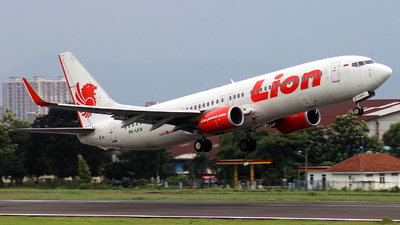 PK-LKW - Boeing 737-8GP - Lion Air