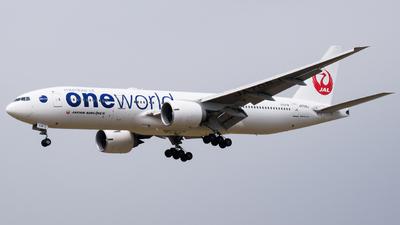 JA708J - Boeing 777-246(ER) - Japan Airlines (JAL)