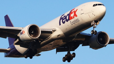 A picture of N884FD - Boeing 777FS2 - FedEx - © CHA CHA