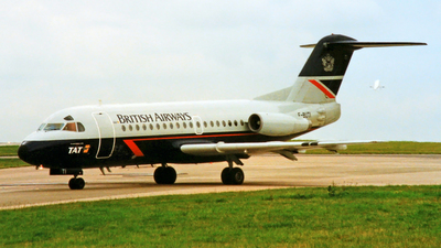F-BUTI - Fokker F28-1000 Fellowship - British Airways (TAT European Airlines)