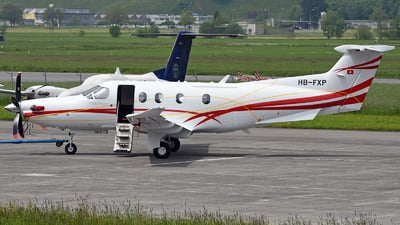 A picture of HBFXP - Pilatus PC12/47E -  - © Mirko Bleuer