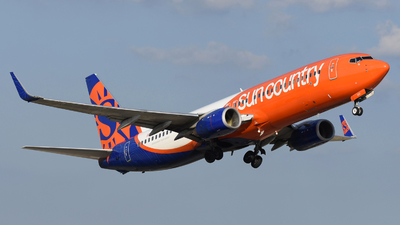 A picture of N830SY - Boeing 73783N - Sun Country Airlines - © DJ Reed - OPShots Photo Team