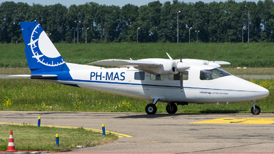 PH-MAS - Partenavia P.68C-TC Victor - Miramap Aerial Surveys