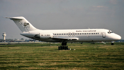 YL-BAA - McDonnell Douglas DC-9-15(RC) - Baltic International Airlines