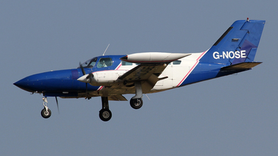 A picture of GNOSE - Cessna 402B Utililiner -  - © Ian Howat