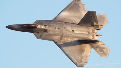 06-4117 - Lockheed Martin F-22A Raptor - United States - US Air Force (USAF)