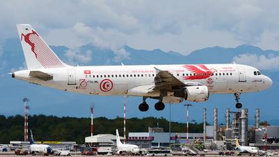 TS-IML - Airbus A320-211 - Tunisair