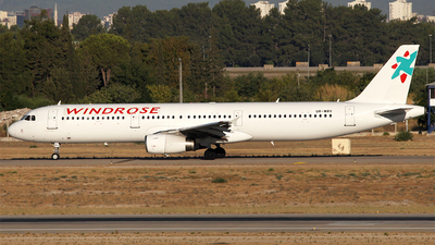 UR-WRV - Airbus A321-231 - Wind Rose Aviation