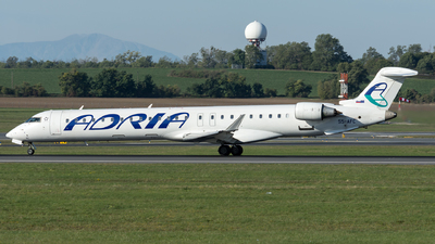 A picture of S5AFC - Bombardier CRJ900LR - Adria Airways - © Gerhard Zant