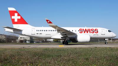 HB-JBC - Bombardier CSeries CS100  - Swiss