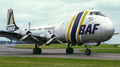 G-ASDC - Aviation Traders ATL-98 Carvair - British Air Ferries (BAF)