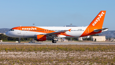 A picture of GEZUL - Airbus A320214 - easyJet - © Carlos Miguel Seabra