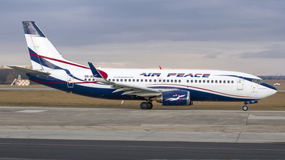5N-BQO - Boeing 737-36N - Air Peace