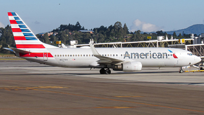 A picture of N827NN - Boeing 737823 - American Airlines - © Santiago Osorio Ramírez