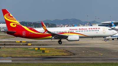 B-1729 - Boeing 737-84P - Hainan Airlines