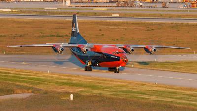 UR-CJN - Antonov An-12B - Cavok Air