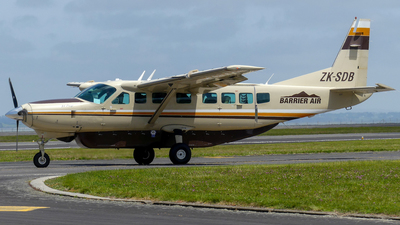 ZK-SDB - Cessna 208B Grand Caravan - Great Barrier Airlines