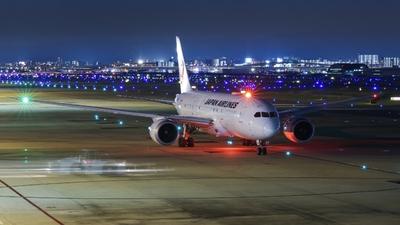 JA848J - Boeing 787-8 Dreamliner - Japan Airlines (JAL)