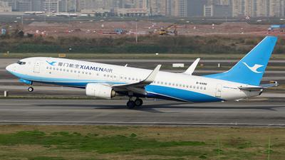 A picture of B6488 - Boeing 73785C - Xiamen Air - © YIJING HOU