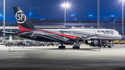 A picture of B2844 - Boeing 7572Z0(PCF) - SF Airlines - © ChaleLu