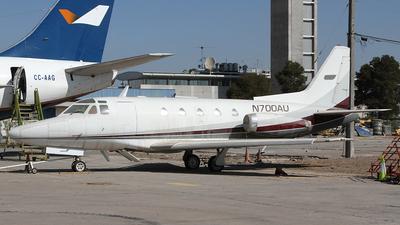 N700AU - North American Sabreliner 60 - Private
