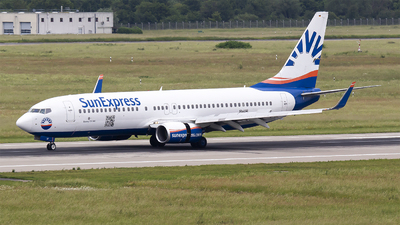 A picture of DASXF - Boeing 7378AS - [33558] - © Bora Polater