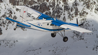 A picture of HBFKM - Pilatus PC6/B2H4 Turbo Porter - [873] - © Alex