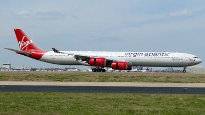 G-VWEB - Airbus A340-642 - Virgin Atlantic Airways