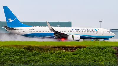 A picture of B1709 - Boeing 73785C - Xiamen Air - © Tongjun XIANG