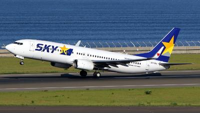 JA73NJ - Boeing 737-86N - Skymark Airlines