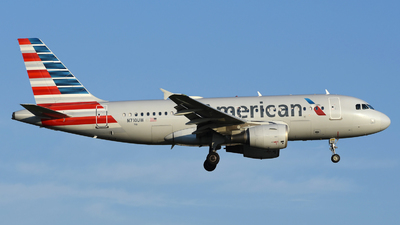 A picture of N710UW - Airbus A319112 - American Airlines - © DJ Reed - OPShots Photo Team