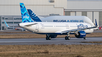 D-AVXF - Airbus A321-271NX - jetBlue Airways