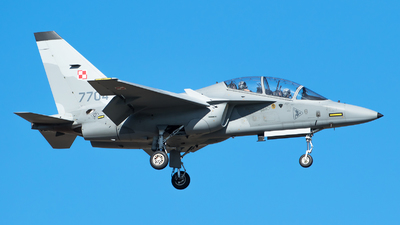 7704 - Alenia Aermacchi M-346 Master - Poland - Air Force